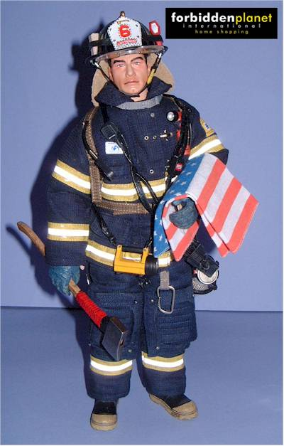Sixth Scale Fire Fighter Action Figure Another Pop Culture Review Michael Crawford Captain Toy