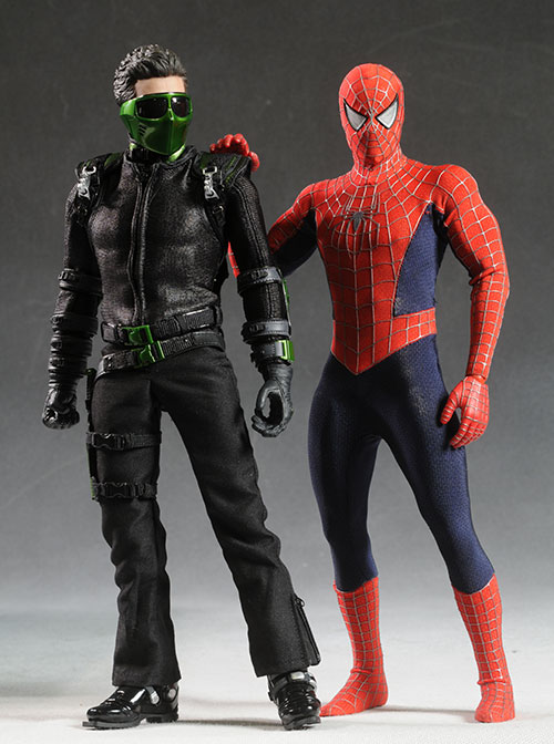 New Goblin Spider-Man 3 sixth scale action figure ...