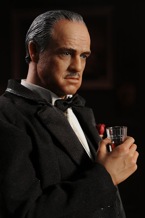 The Godfather sixth scale action figure Don Vito Corleone by Hot Toys