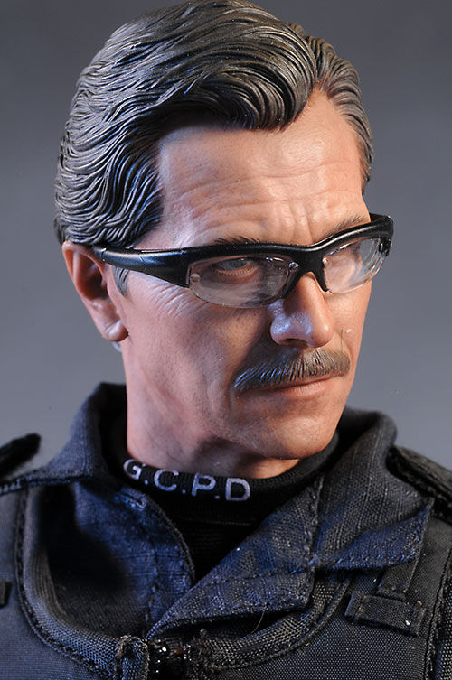Jim Gordon Dark Knight sixth scale action figure by Hot Toys