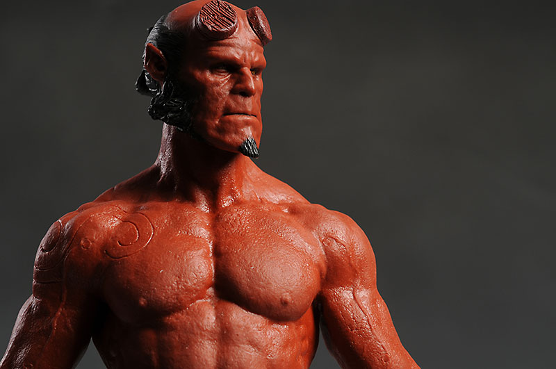 Hellboy action figure sixth scale by Hot Toys