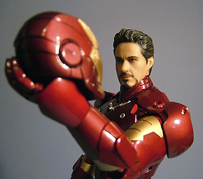 Iron Man Mark III sixth scale action figure by Hot Toys
