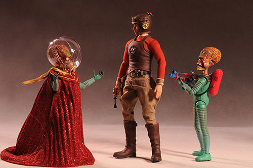 Mars Attacks Martian action figures by Hot Toys