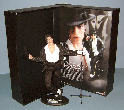 Michael Jackson action figure by Hot Toys