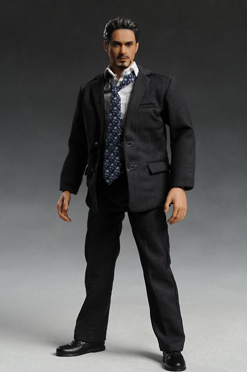 Sixth scale men's suit for Tony Stark by Hot Toys