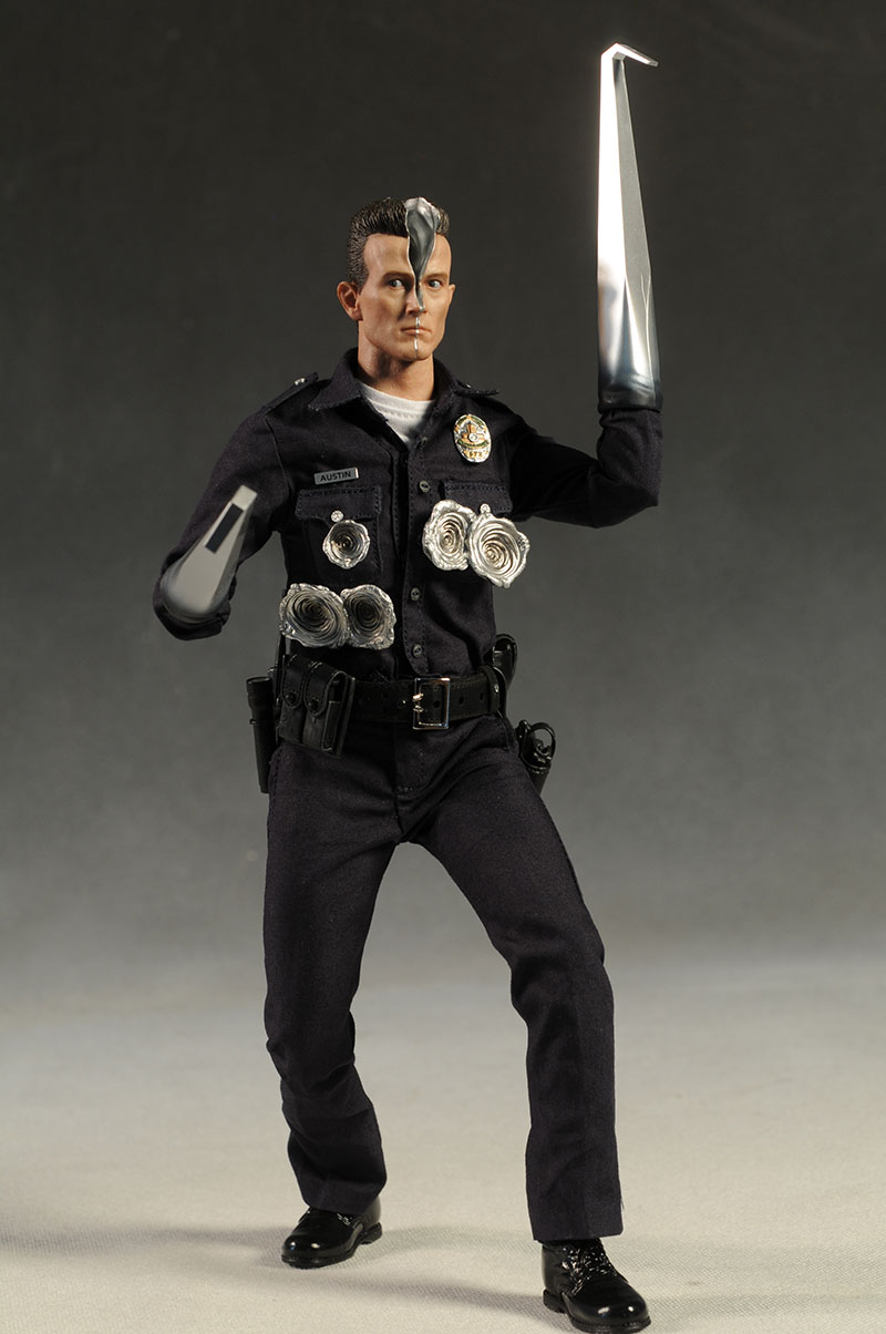 T 1000 Terminator Sixths Cale Action Figure Another Pop