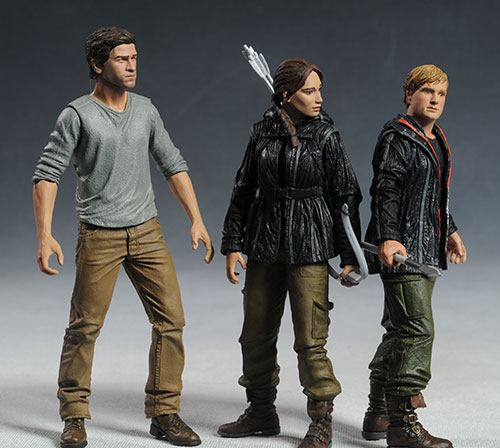 Hunger Games action figures by NECA