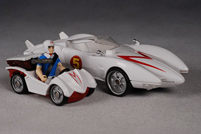 Speed Racer action figure by Mattel