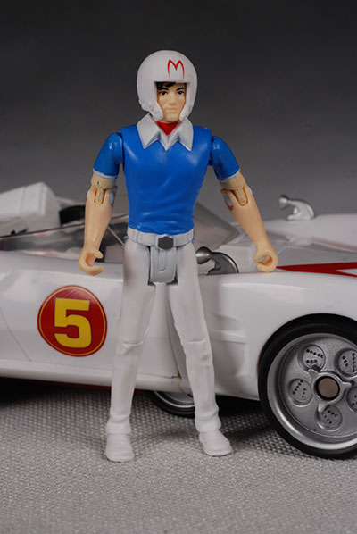 Movie Deluxe Mach 5 and Speed Racer action figure ...