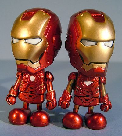 Iron Man 2 Cosbaby action figure by Hot Toys