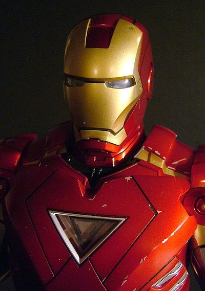 Iron Man 2 Iron Man bust - Another Pop Culture Collectible