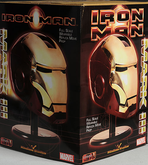 Iron Man Mark III helmet (3) 1:1 full size prop replica by Museum Replicas