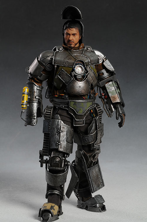 Iron Man Mark I sixth scale action figure from Hot Toys