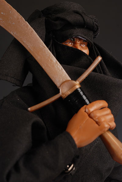 Indiana Jones Cairo Swordsman action figure 12 inch by Hasbro