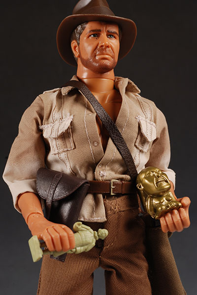 Indiana Jones 12 inch whipping Indy action figure by Hasbro