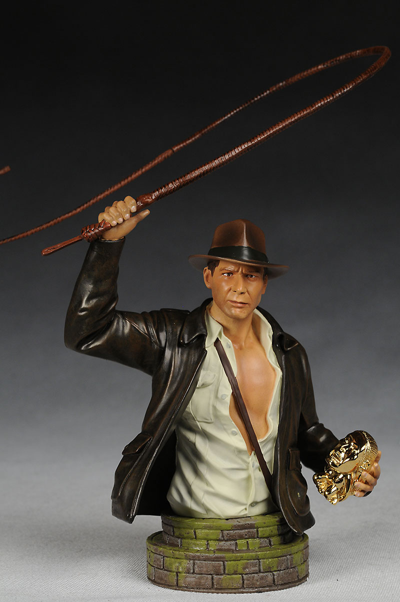 Indiana Jones mini-bust by Gentle Giant