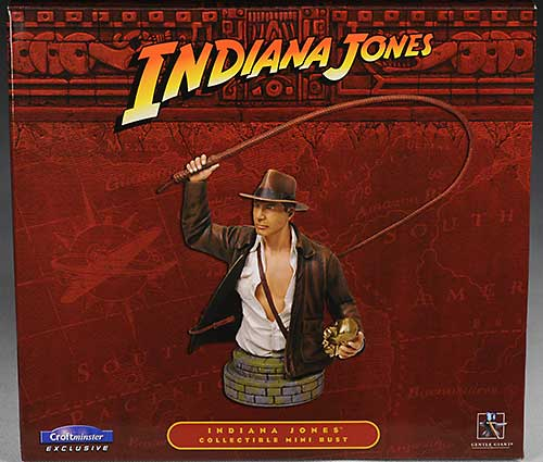 Indiana Jones Gentle Giant exclusive mini-bust