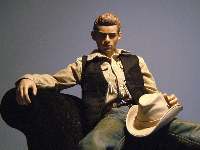 hot toys movie icons james dean action figure