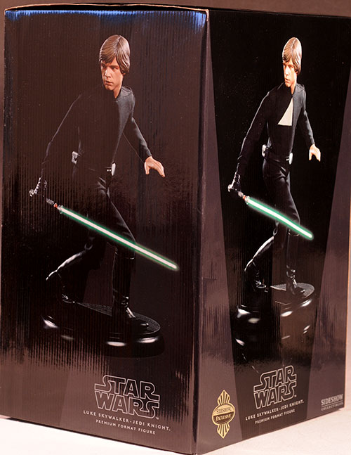 Jedi Luke Skywalker Star Wars Premium Format statue by Sideshow Collectibles