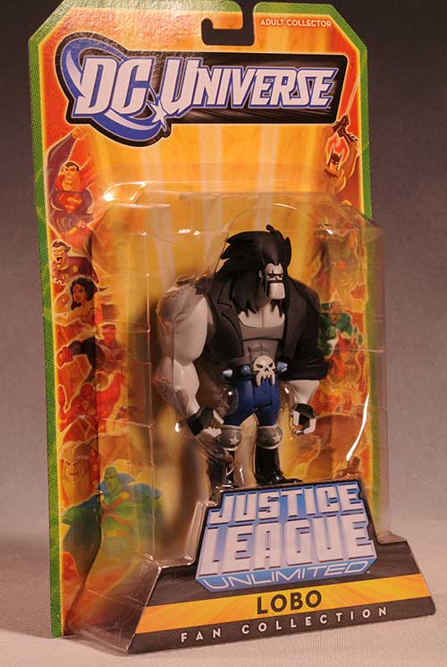 Lobo Justice League Unlimited action figure by Mattel