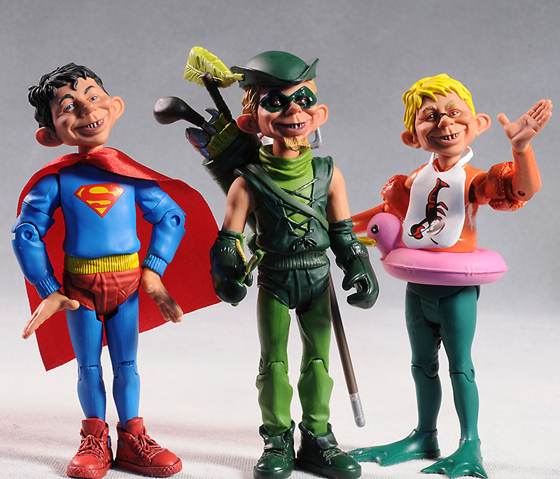 Just Us League of Stupid Heroes series 1 action figures by DC Direct