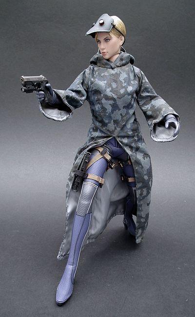 Battle Suit Jill Valentine Action Figure Another Pop