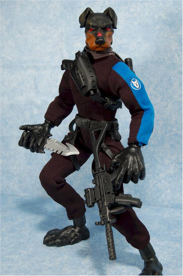 K 9 Corps Malice And Eclipse Action Figure Another Toy