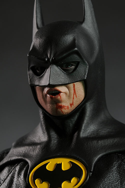 Batman 1989 Keaton sixth scale action figure by Hot Toys