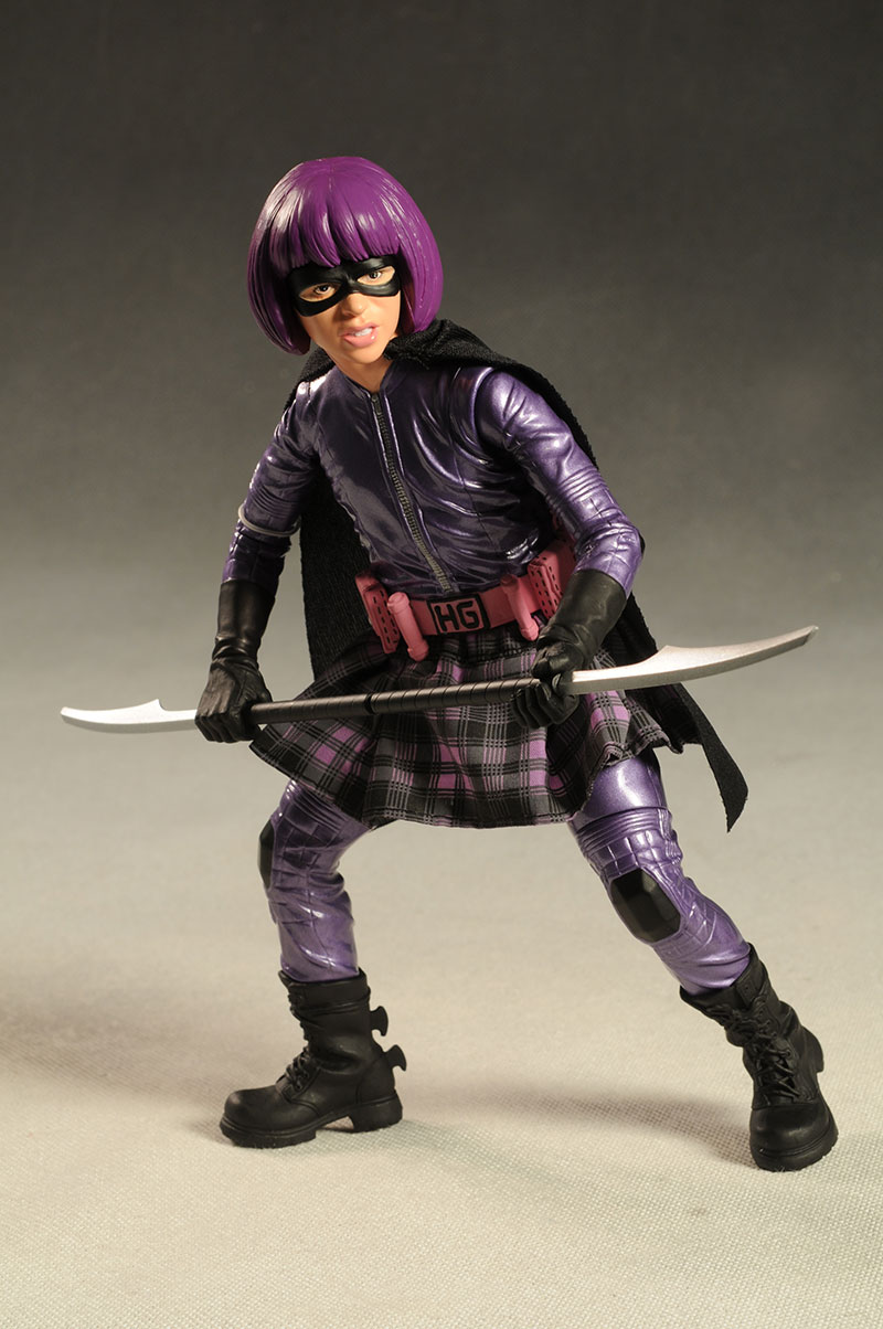 Girl Toy Figures : Kick ass and hit girl inch action figures another pop