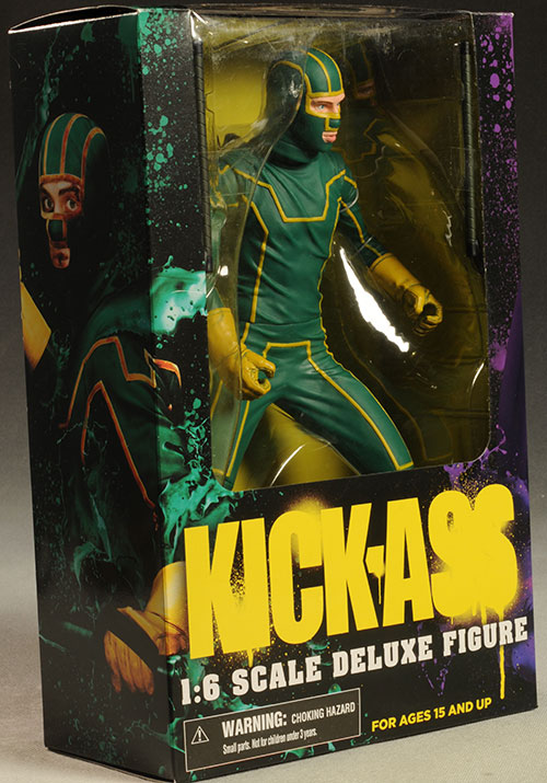 Kick-Ass 12 inch action figure by Mezco Toyz