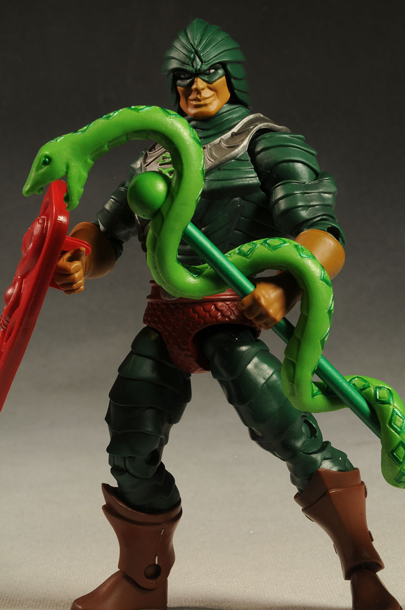 King Hiss Masters of the Universe Classics MOTUC action figure by Mattel