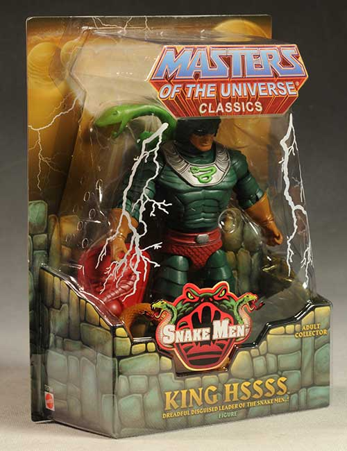 King Hssss Masters of the Universe Classics MOTUC action figure by Mattel