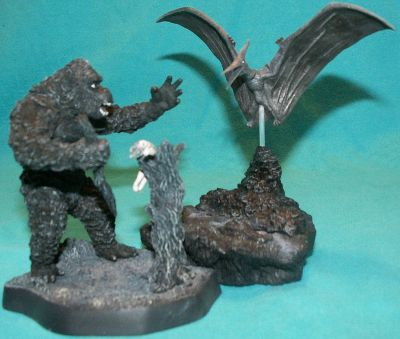 King Kong action figures by Konami
