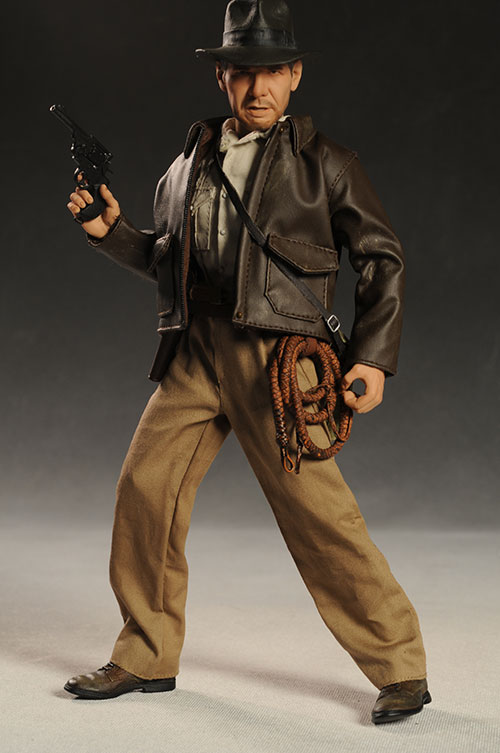 Indiana Jones Kingdom of the Crystal Skull action figure by Sideshow Collectibles
