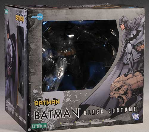 Batman Black Costume statue by Kotobukiya