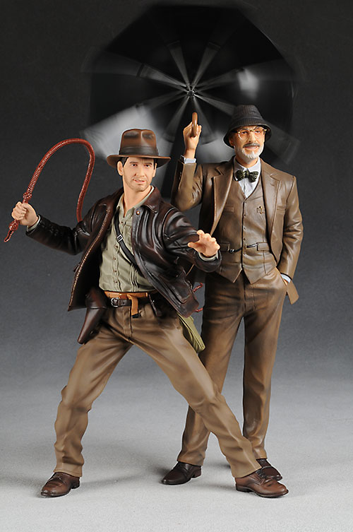 Kotobukiya Indiana Jones and Professor Henry Jones Sr. Statue