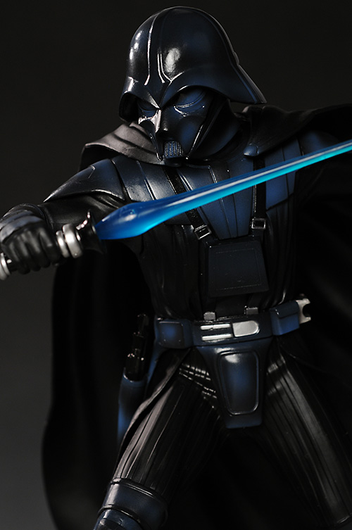 Mcquarrie edition Luke Skywalker versus Darth Vader star wars statue from Kotobukiya