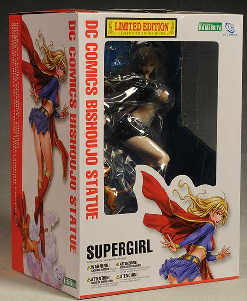 Bishoujo Supergirl statue limited edition sdcc exclusive by Kotobukiya