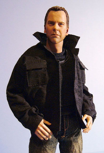Jack Bauer sixth scale clothing set from Season 7 by Kunch