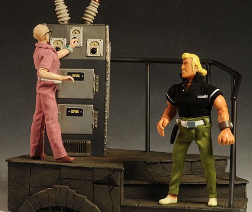 Laboratory Environment for 1/6th action figures by Sideshow Collectibles