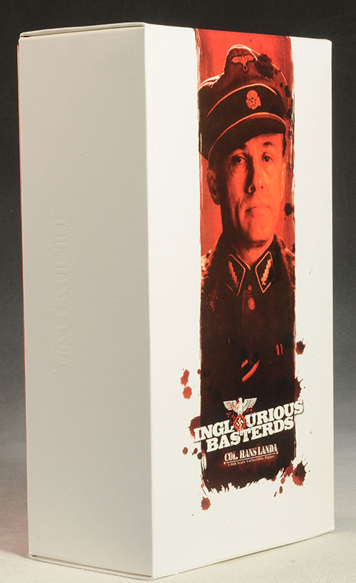 Hans Landa Inglorious Basterds sixth scale action figure by Hot Toys
