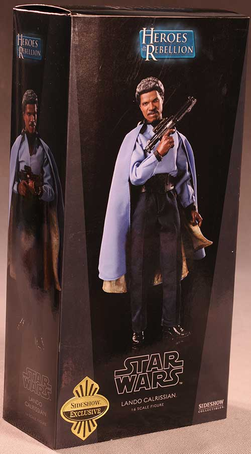 Lando Calrissian Star Wars sixth scale action figure by Sideshow Collectibles