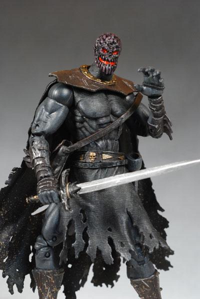 legendary comic book heroes conan  wrarrl action figures