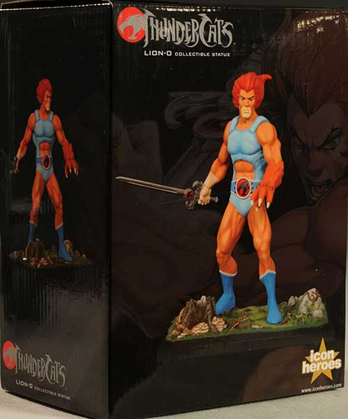 Lion-O Thundercats statue by Icon Heroes