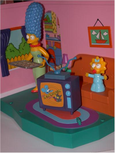Michael crawford 39 s review of the week for Simpsons living room picture