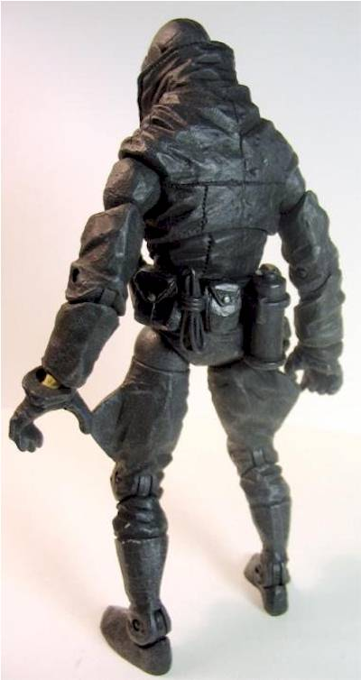 Hellboy Lobster Johnson action figure - Another Toy Review by Michael Crawford, Captain Toy