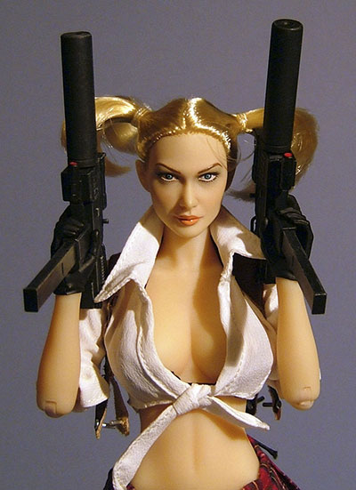 Lola sixth scale action figure from Triad Toys