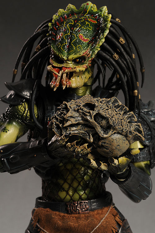 Alien vs Predator Lost Predator action figure by Hot Toys