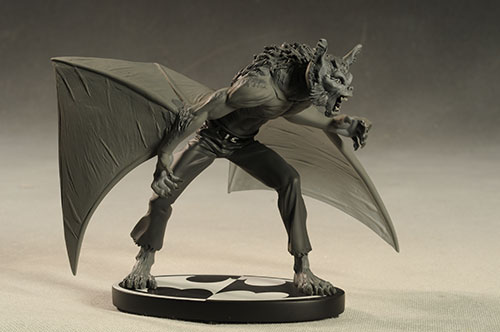 Man-bat Batman Black and White statue by DC Direct
