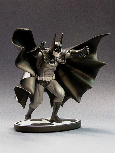 Marshall Rogers Batman Black and White statue by DC Direct